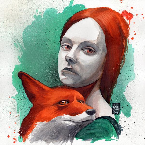 La fille au renard