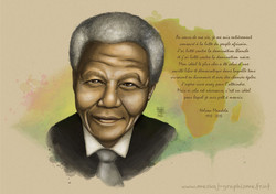 Nelson-Mandela-Aquarelle