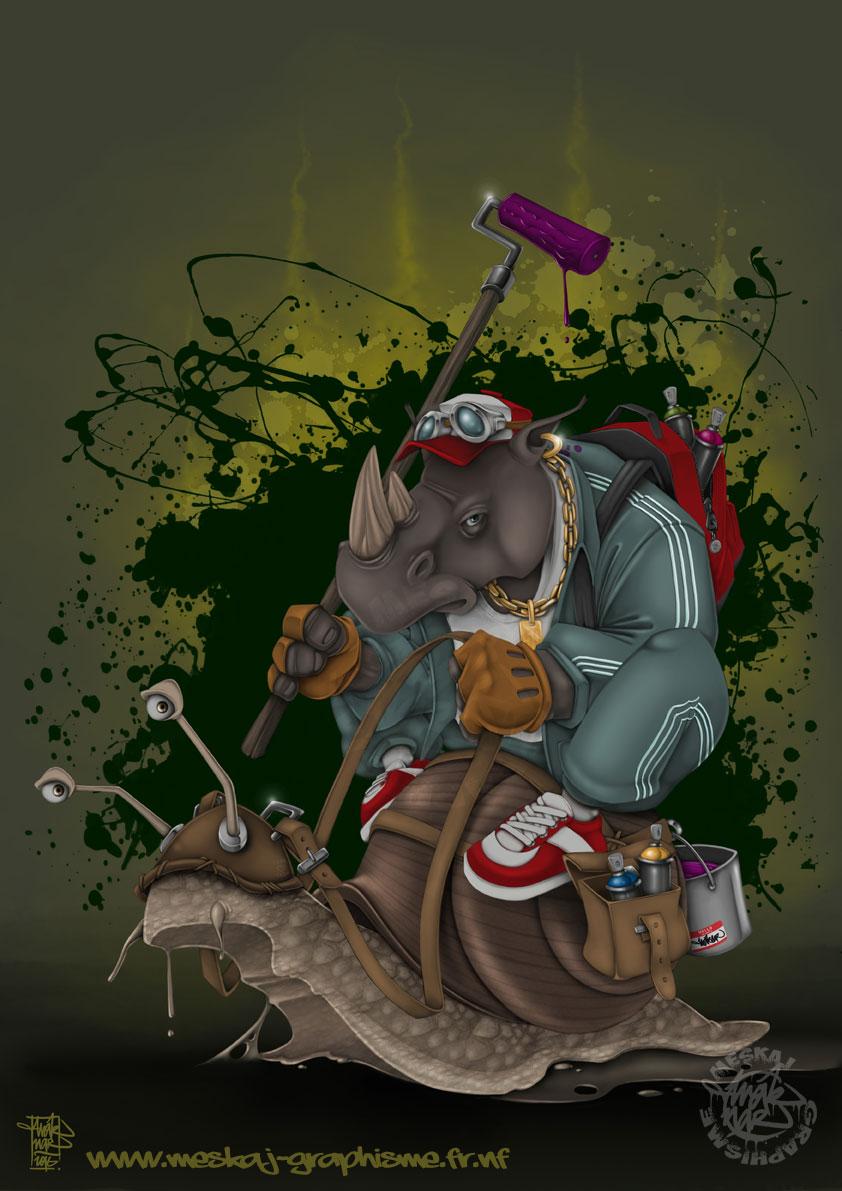 Rhinograffiti