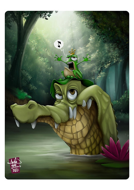 Croc & Frog