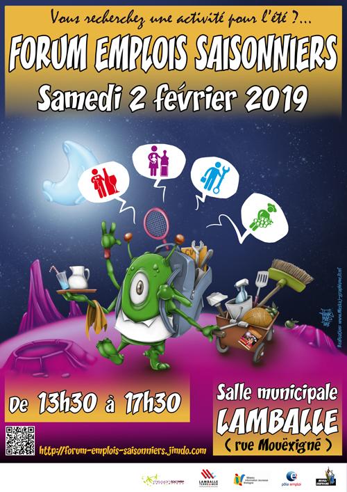 Affiche forum 2019