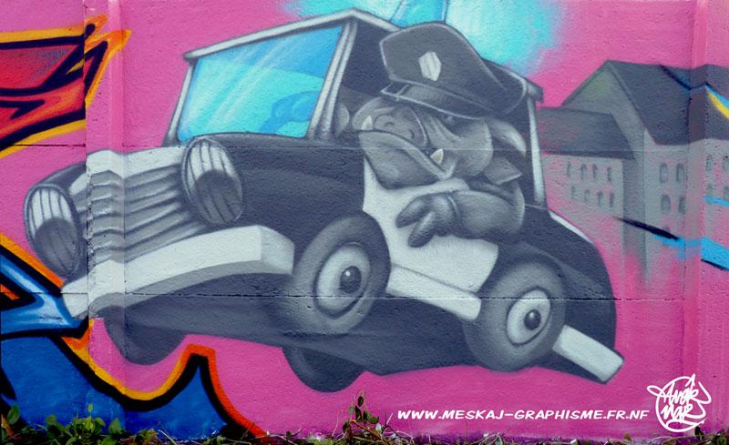 Pig-cops