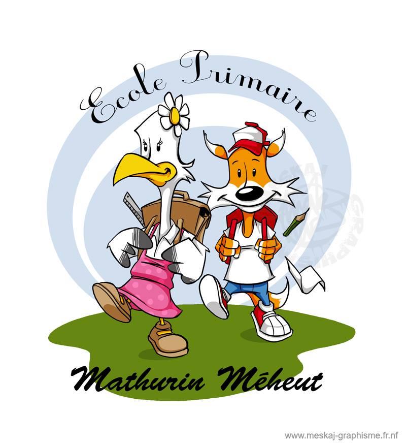 Logo Ecole Primaire Mathurin Meheut