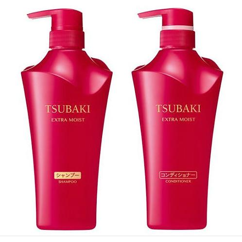 Shiseido Tsubaki Extra Moist Shampoo & Conditioner Combo