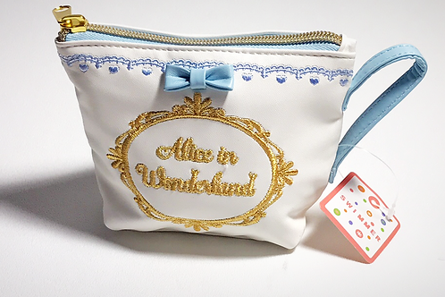 Alice in Wonderland Tea Cup bag White S