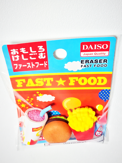 Japanese Fast Food Eraser