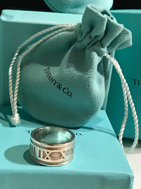 Tiffany & Co Ring 1995 Authentic Atlas Band