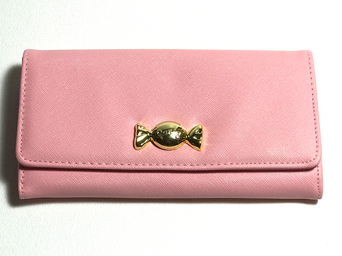 Pink Candy Large Wallet