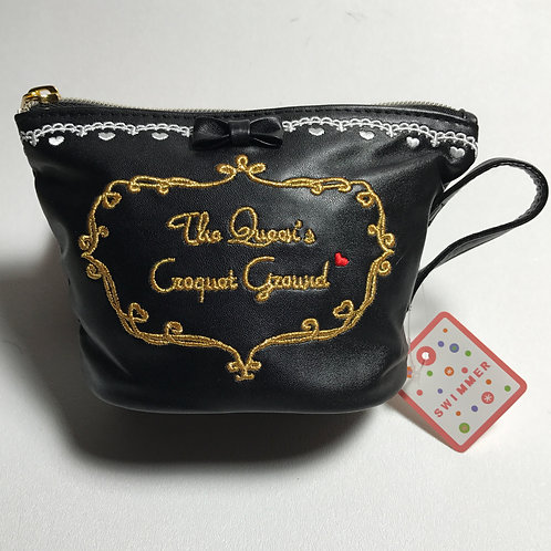 Alice in Wonderland Tea Cup bag Black M