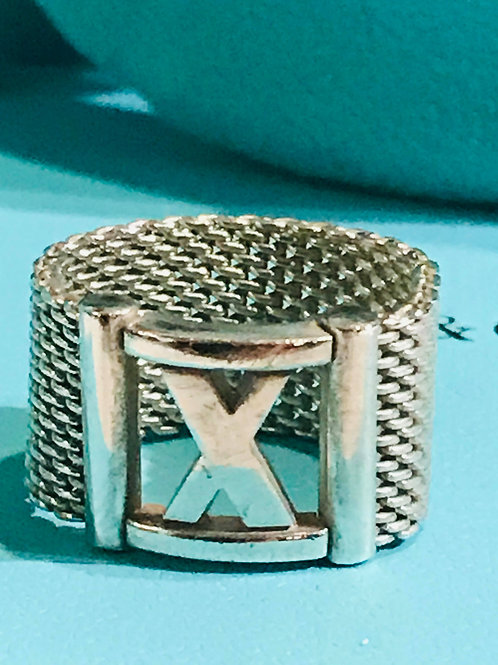 Tiffany & Co Atlas Mesh Ring