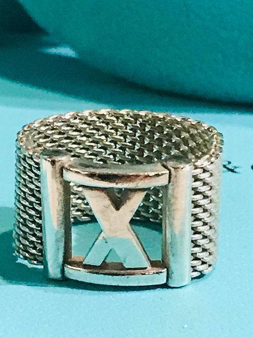Tiffany & Co Atlas Mesh Ring