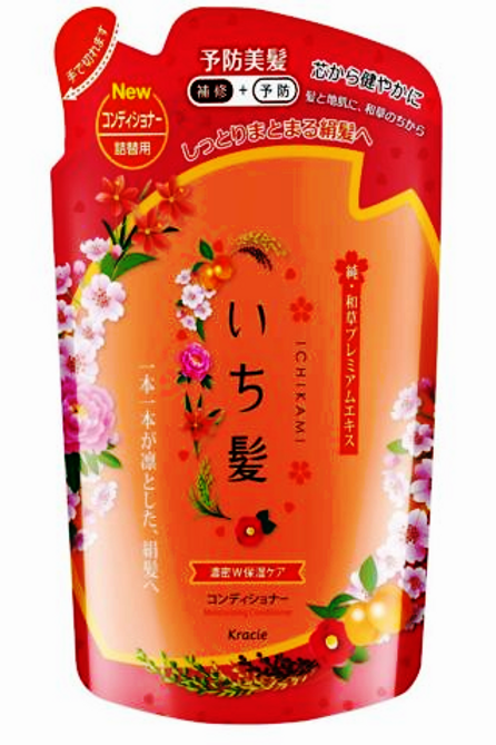Kracie Ichikami Moisturizing Conditioner 480ml Refill