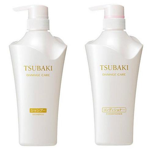 Shiseido Tsubaki Damage Care Shampoo & Conditioner Combo