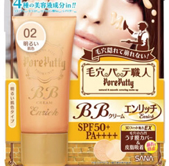 SANA Pore Putty BB Mineral Powder and Cream