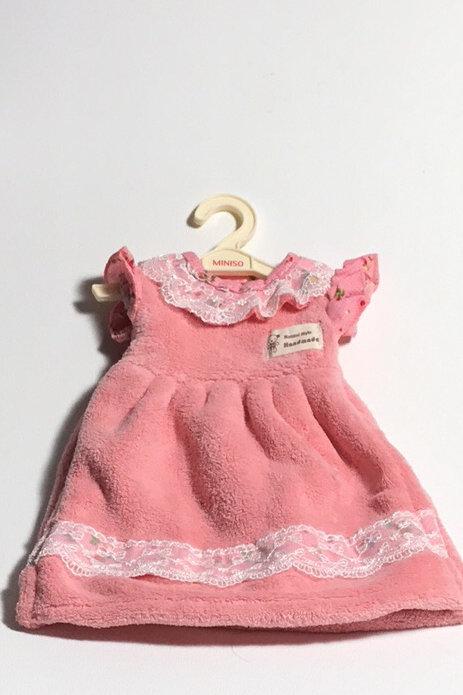 Plush Pink Towel Dress