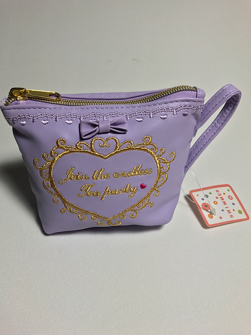 Alice in Wonderland Tea Cup bag Lavendar S