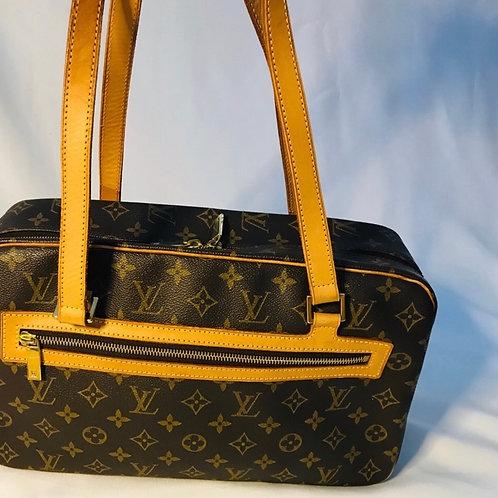 Louis Vuitton Shoulder Bag Cite GM Monogram