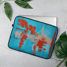 Laptop case - coral life.jpg