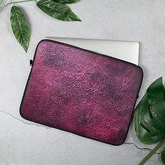 Laptop case - fuxia thoughts.jpg