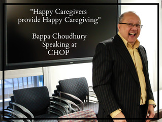 Bappa Spoke to a Group of Healthcare Professionals in the Department of Radiology at CHOP in Philade