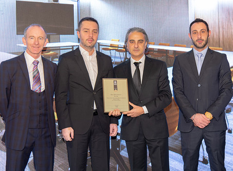 M-Ofis wins Best Office Interior Europe Award with TFKB project