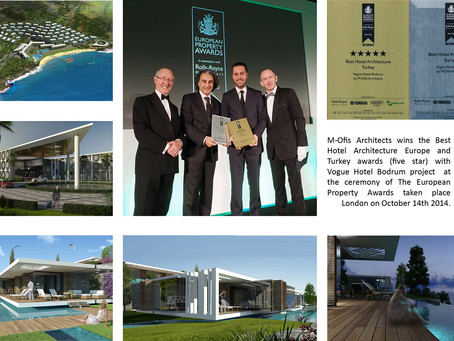 M-Ofis wins Best Hotel Architecture Europe Award