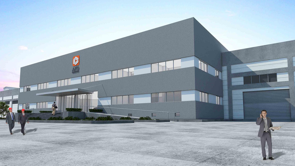 AKG Gazbeton Factory Administrative Offices