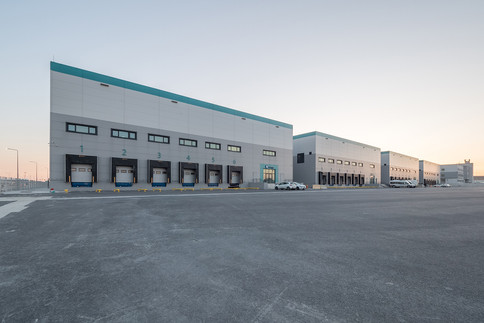 Istanbul New Airport Freight Forwarding Cargo Terminal Building