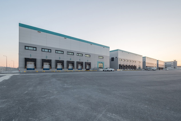 Istanbul New Airport Freight Forwarding Cargo Terminal Buildings