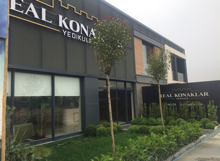 Real Konaklar Yedikule Residences sales office opens!