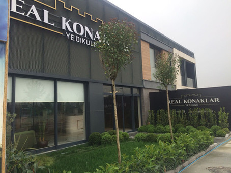 Real Konaklar Yedikule Residences sales office opens!