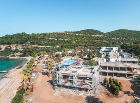 Angel's Hotel Bodrum construction starts!