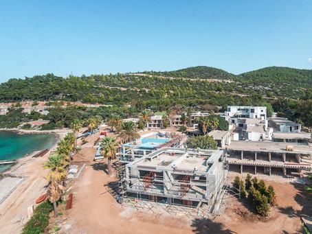 Angel's Hotel Bodrum construction starts!