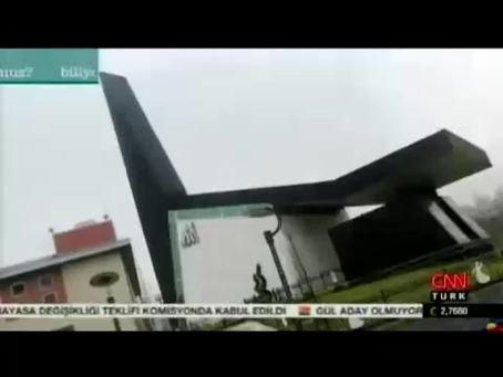 Semazen Mosque is a guest on Modern Mosques, CNN Türk!