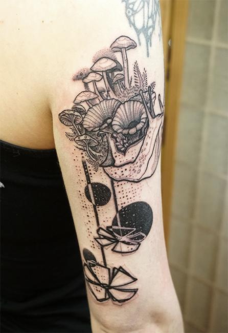 Hildegrim / deadly mushroom snail