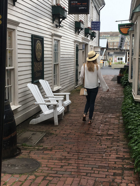 Two Days in Newport, Rhode Island