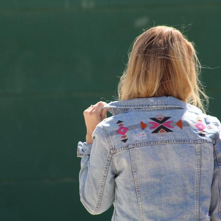 Trending: Embroidered Denim Jacket