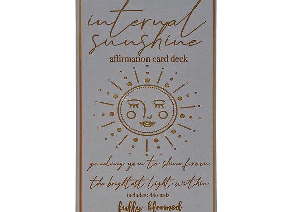 INTERNAL SUNSHINE AFFIRMATION CARD DECK