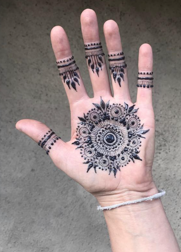 Hand traditionelles Design