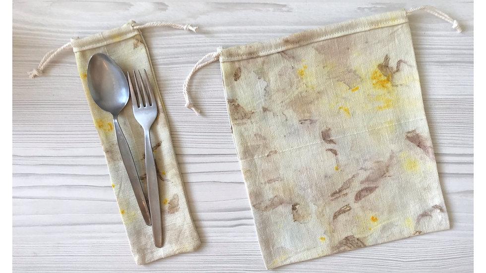 Set Brotsack und Bestecksäckli