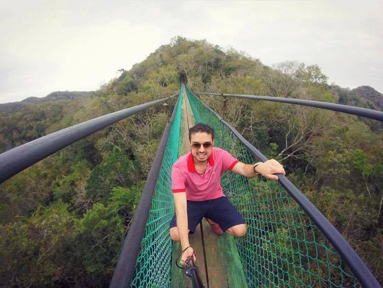 Sky way hanging bridges