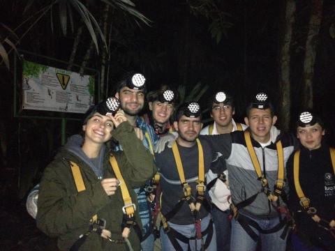 Night canopy tour
