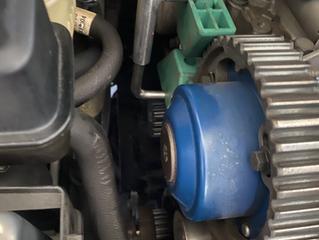 ボルボ V70 水漏れ修理