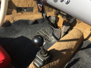 ポルシェ356レプリカ シフト抜け修理