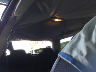 BMW ミニ 天井修理