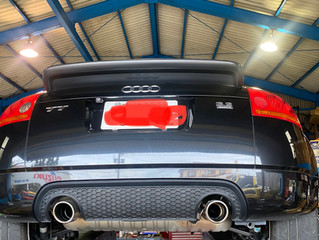 Audi TT ミッションオイル交換