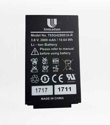 Unication G4 or G5 Pager OEM Replacement Li-ion Battery