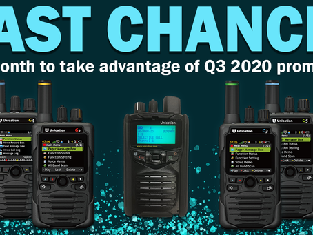 Promotion - Free 5 year warranty G2, G3, G4, G5 Pagers