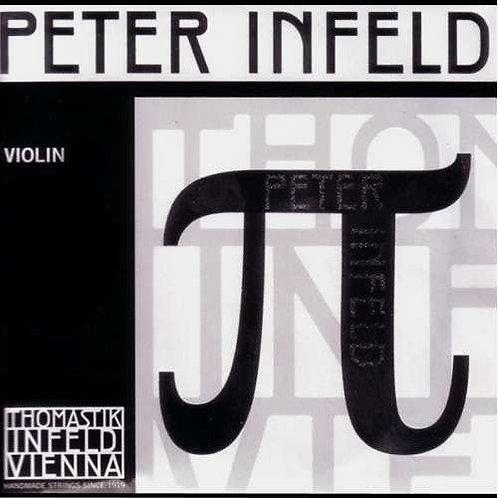 PETER INFELD SYNTHETIC CORE CORDA MI (E) ACCIAIO CROMATO STAGNATO - PI01SN