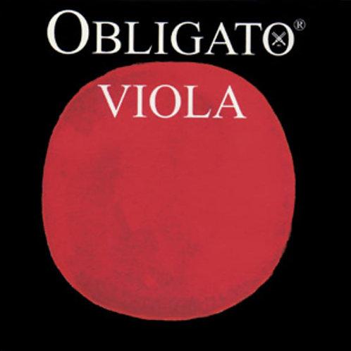 OBLIGATO CORDA DO (C) PER VIOLA SYNTHETIC/TUNGSTEN-SILVER MITTLE ENVELOPE 421421